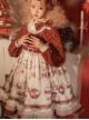 Sweet Tea Series OP Elegant Small High Waist Reflective Satin Sweet Lolita Long Sleeve Dress