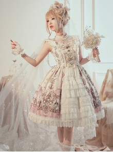 Swan Wedding Series JSK Classic Lolita Sling Dress