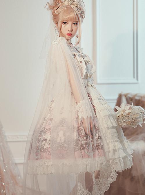 Swan Wedding Series JSK Classic Lolita Sling Dress