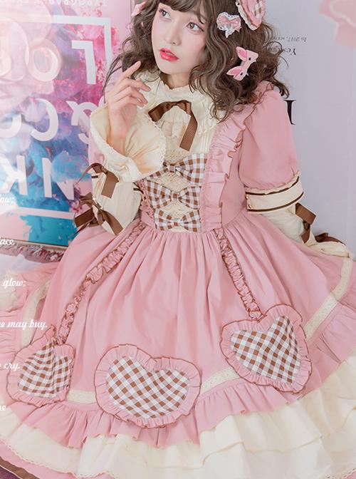Cherry Series OP Pink Sweet Lolita Dress