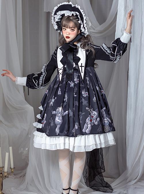 Resentment Puppet Doll Series OP Gothic Lolita Long Sleeve Dress