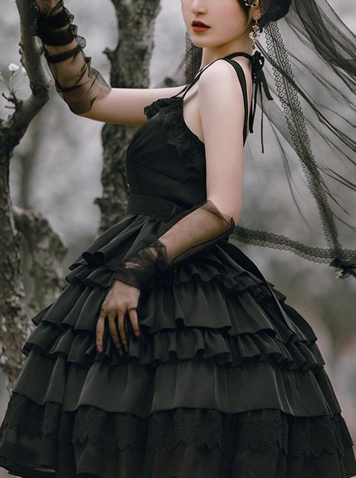 Twilight Series JSK Gothic Lolita Sling Dress