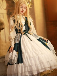 Chant Of The Temple Series JSK Classic Lolita Sleeveless Dress