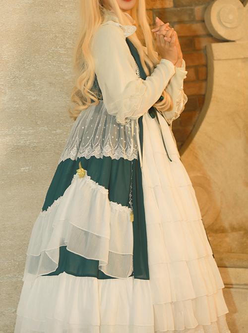 Chant Of The Temple Series JSK Classic Lolita Sleeveless Dress