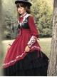 Fantasy Night Series OP Elegant Classic Lolita Long Sleeve Long Dress