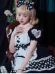 The Love Strawberries Series Polka Dot Printing Sweet Lolita Short Sleeve Dress