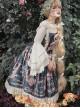 Portrait Of Pompadour Series JSK Retro Elegance Classic Lolita Sling Dress