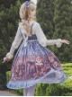 Alice Dark Forest Series JSK High Waist Classic Lolita Sling Long Dress