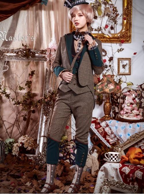 Lolita Gray Rabbit Uncle Full Set