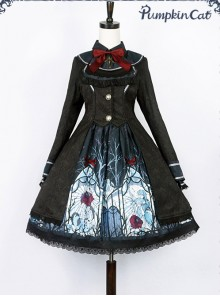 Beauty The Rose Lolita Cinerous Windbreaker