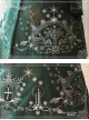 Lolita Dark Green The Mass Of Winter Embroidery Overcoat