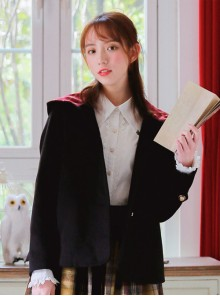 Magic Academy Series Retro Wool Lolita Short Coat