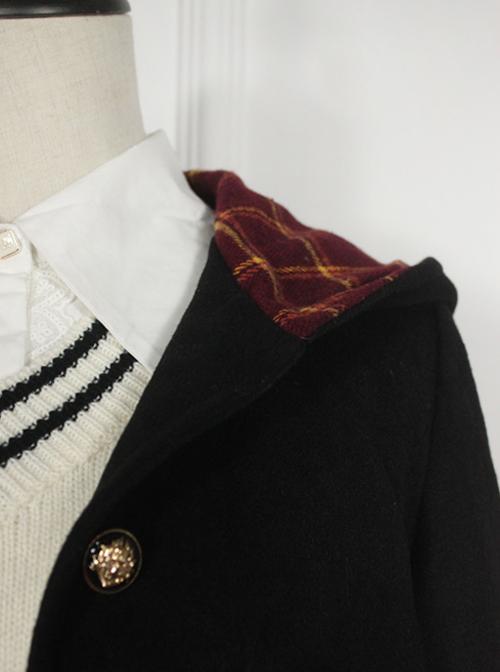 Magic Academy Series Retro Wool Lolita Short Coat