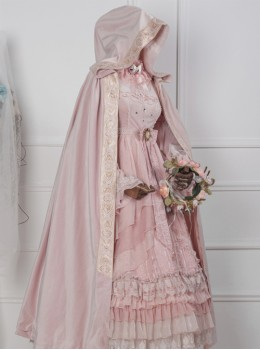 Velvet Pure Color Classic Lolita Cloak