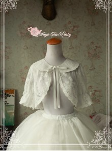 Magic Tea Party Summer Fragrance Series White Lace Lolita Small Shawl