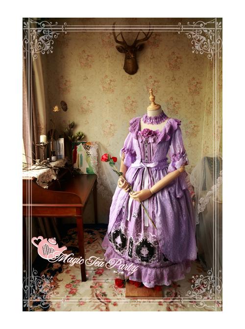 Magic Tea Party Cross And Censer Series Chiffon Classic Lolita Dustcoat