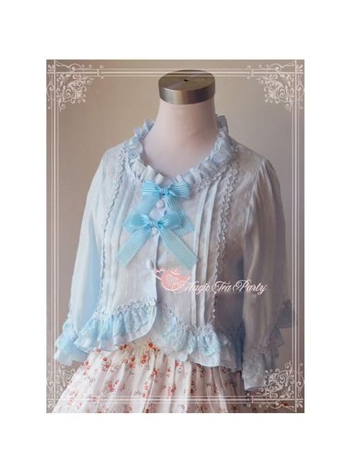 Magic Tea Party Wind Language Flower Series Lolita Jacquard Small Coat