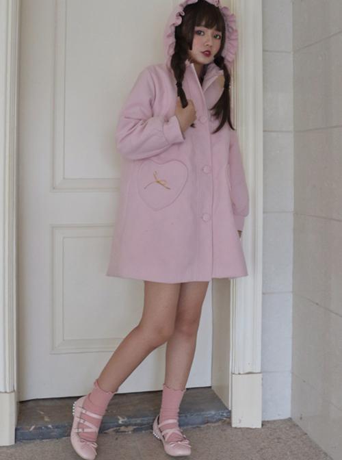 Jeanne's Gift Series Double-sided Wool Cloth Sweet Lolita Coat
