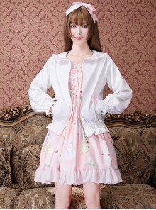 Cute Baseball Uniform Sweet Lolita Short Jacket