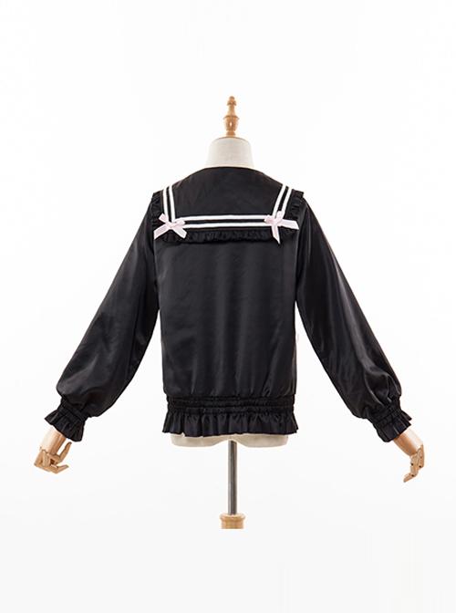 Cute Baseball Uniform Sweet Lolita Short Jacket