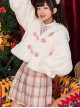 Sleepwalking Rabbit Series Cute Rabbit Ears Sweet Lolita Short Coat
