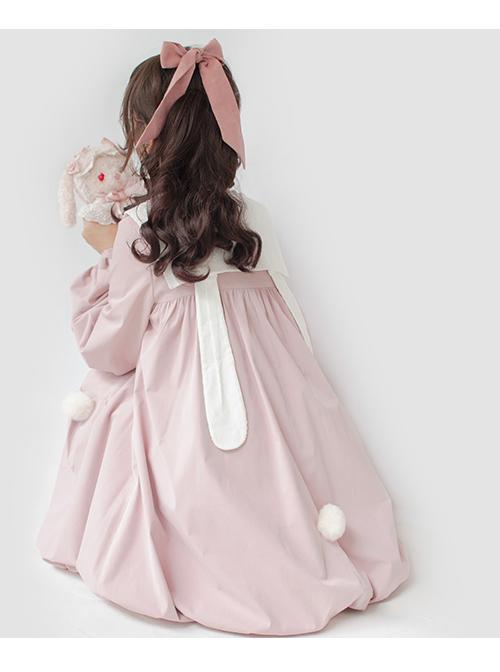 October Rabbit Series Rabbit Ears Sweet Lolita Thin Coat