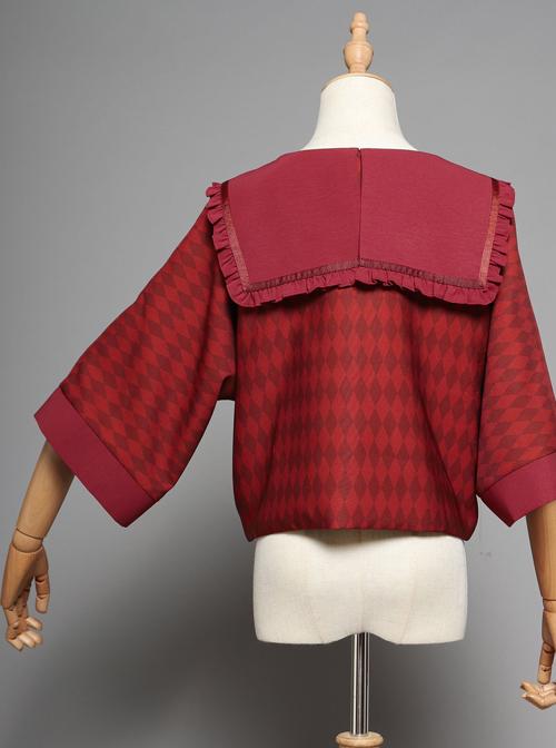 Ten Little Indians Series Haori Gothic Lolita Thin Coat