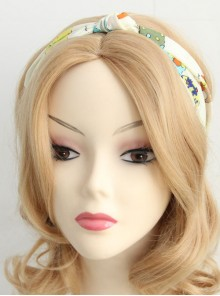 Cute Cartoon Chiffon Hair Band