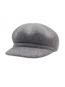Light Gray Concise Lolita Beret