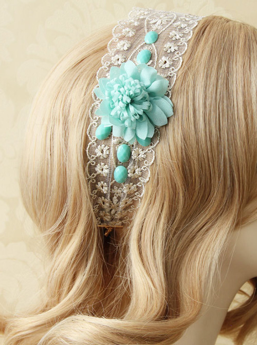 Lace Flower Holiday Classic Lolita Hair Band