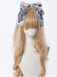 Steam Band Series Gorgeous Band Design Bowknot Classic Lolita Head Band