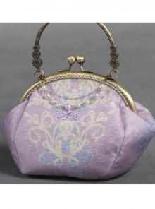 Otaksa's June Days Series Purple Elegance Classic Lolita Bag