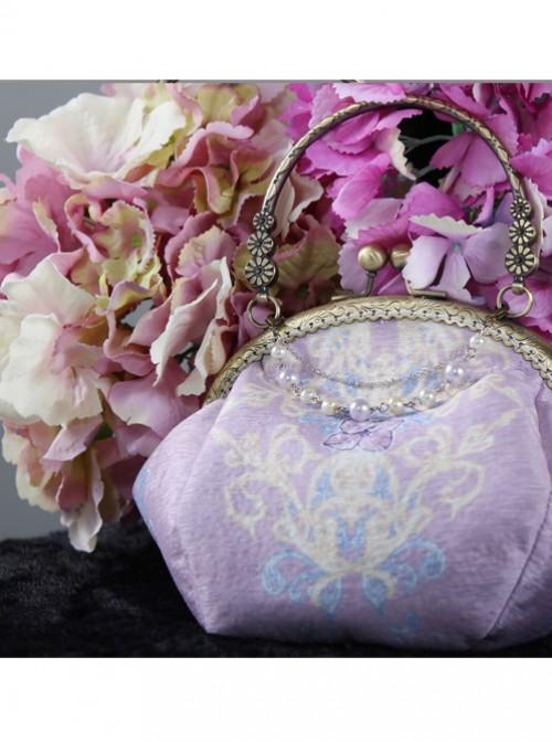 Otaksa's June Days Series Purple Elegance Classic Lolita Bag
