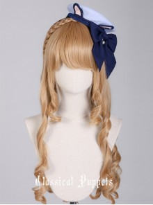 Cat Series Russia Blue Cat Mini Beret Bowknot Lolita Head Band