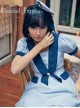 Cat Series Russia Blue Cat Mini Beret Bowknot Lolita Head Band