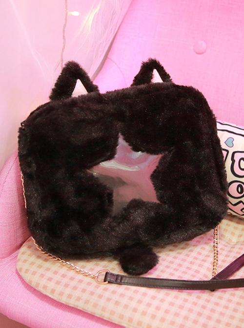 Lovely Plush Animal Ears Lolita Itabag