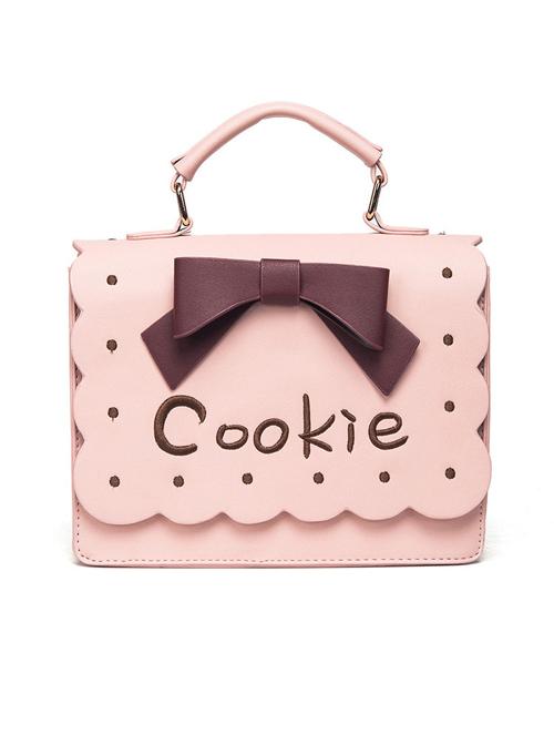 Cute Cookie Bowknot Lolita Shoulder Bag