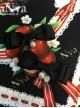 Red Apple Bowknot Series Printing Sweet Lolita Hairpins
