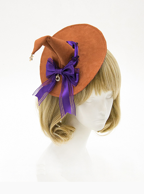Halloween Witch Gothic Lolita Mini Pointed Hat