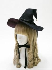 Halloween Witch Gothic Lolita Medium Pointed Hat