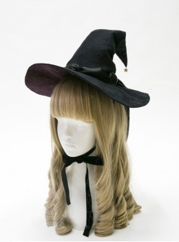 Halloween Witch Gothic Lolita Medium Pointed Hat