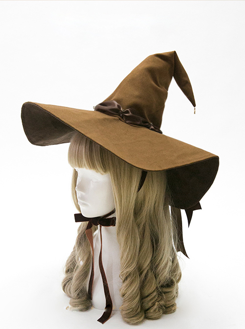 Halloween Witch Gothic Lolita Large Pointed Hat