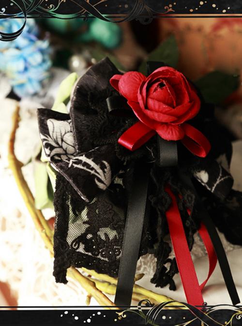 Magic Tea Party Seven Crimes Series Bowknot Lolita Hair Pin