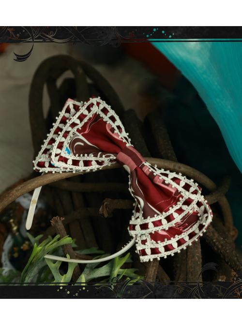 Magic Tea Party Circus Girl Series Lolita Head Hoop