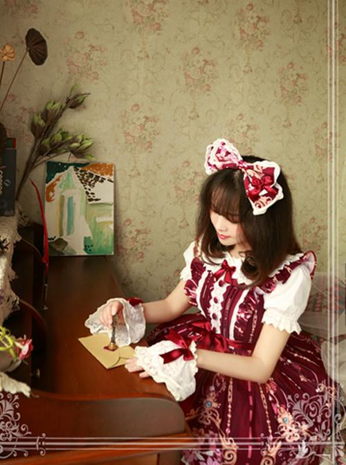 Magic Tea Party Flower fairy Series Lolita Head Hoop