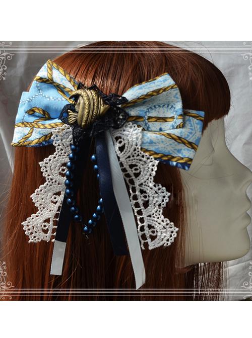 Magic Tea Party Angel Fish Series Lolita Hair Pin