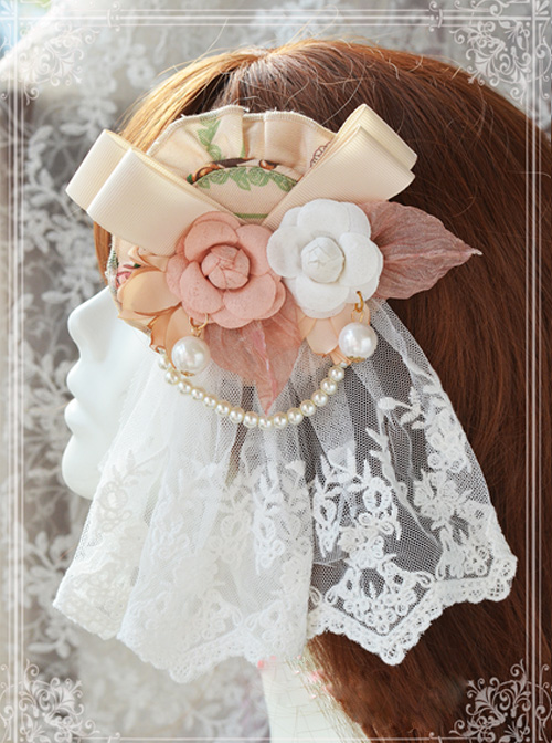 Magic Tea Party Spring Of Europa Series Small Flowers Classic Lolita Hair Pin
