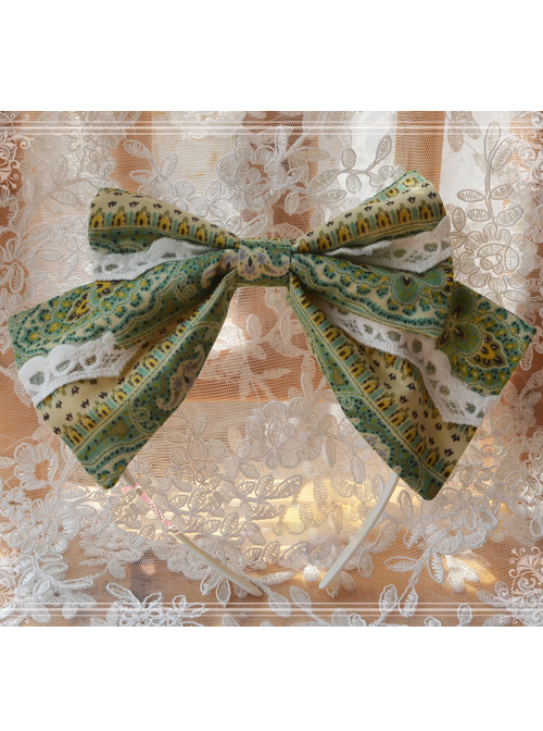 Magic Tea Party Aideli Series Classic Lolita Hair Hoop