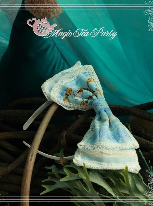Magic Tea Party Alice Series Printing Head Band