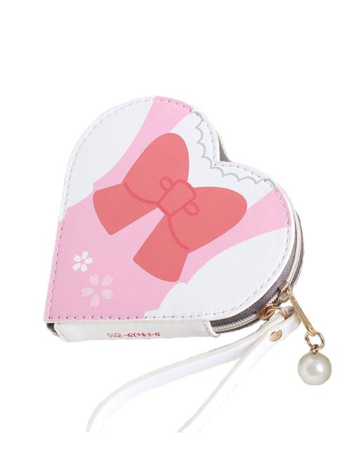 Fashion Card Captor Sakura Series Printing Heart-shaped Sweet Lolita Card Package
